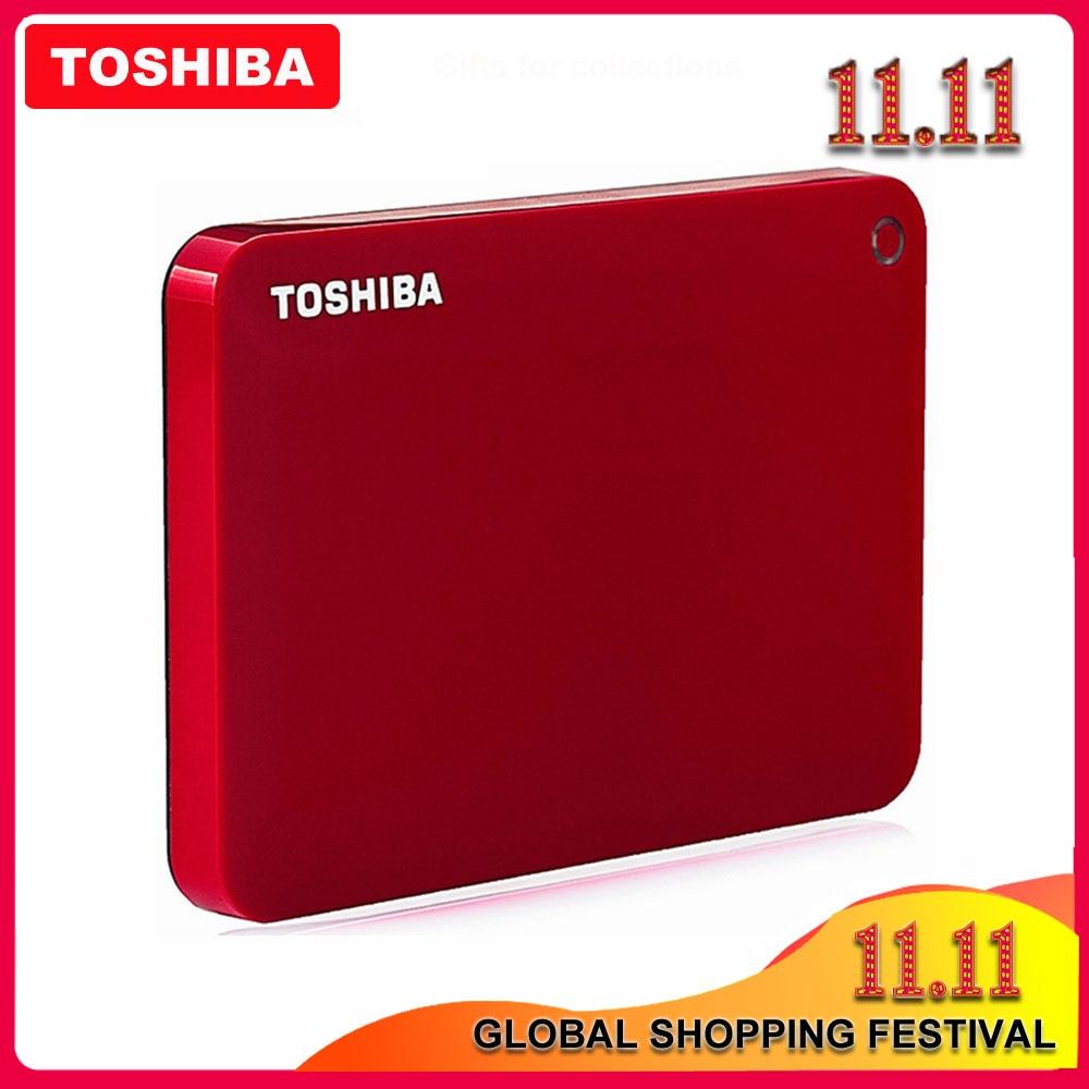 Toshiba canvio 100% avançado v9 usb 3.0, 2.5 polegadas, 1tb 2tb 3tb hdd disco rígido externo portátil disco móvel 2.5 para computador portátil