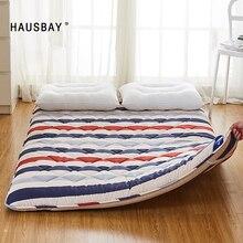 Colchón completo tamaño Queen Tatami Mat 7cm de espesor para dormitorio durmiendo en el suelo esterillas plegables Camping colchón cojín MT001