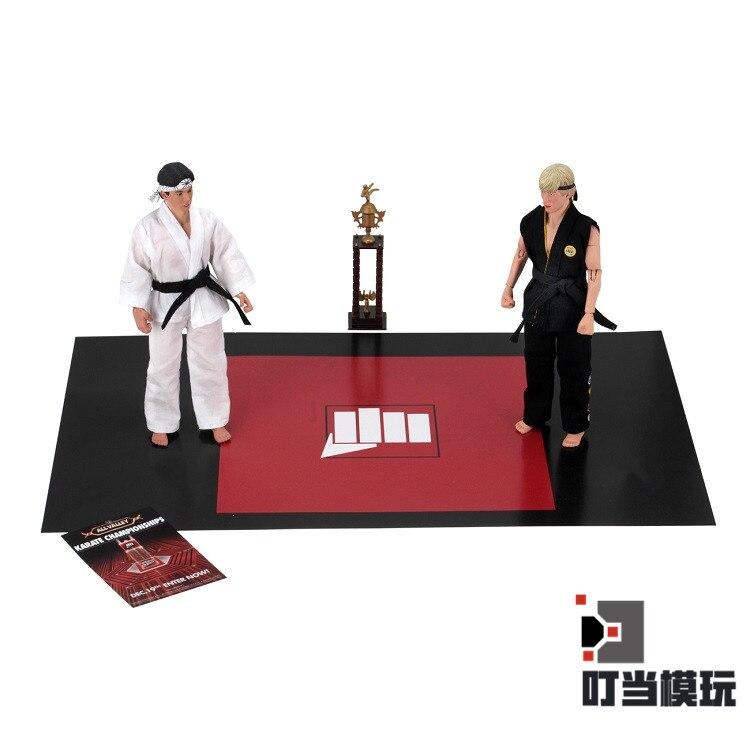 Кольцо для каратэ NECA The Karate, двойной проигрыватель, ПВХ, экшн фигурка, коллекционная игрушка, роскошная версия