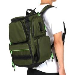 Outdoor wielofunkcyjna torba na sprzęt wędkarski przenośna torba wędkarska plecak przynęty wędkarskie skrzynka elektryczna do przechowywania wędkarskiego