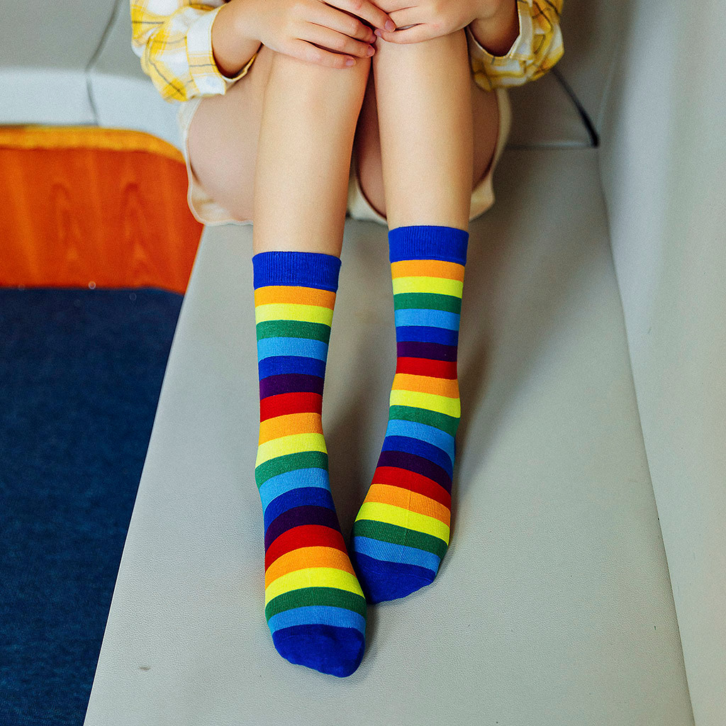 Sweet Womens Knee Socks Sugar Skull Rose Girl Casual High Long Knee Warm Socks Compression Thigh Outdoor Tube Stocking