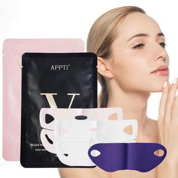 1 pcs Face Lifting Mask Miracle V Shape Slimming Mask Line Remover Wrinkle Double Chin Reduce Lift Bandage Skin Care Tool
