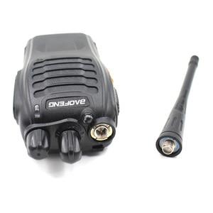 Image 2 - 10pcs Baofeng BF 888S walkie talkie 5W 5KM UHF 400 470MHZ 16 Channels Handheld Portable Ham Radio Two Way Radio + 1 USB Cable