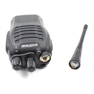Image 2 - 2pcs Baofeng BF 888S walkie talkie Black 5W 5KM UHF 400 470MHZ 16 Channels Handheld Portable Ham Radio Two Way Radio Station