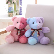 Creative Two Tone Teddy Bear Plush Toys Stuffed Animal Cute Bear Toy Plush Doll Children Toy Girls Birthday Gift 60cm new style lovely teddy bear plush toys stuffed plush doll toy teddy bear children toy girls birthday gift
