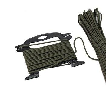 1 sztuk Paracord Winder przenośny nawijarka do żyłki liny organizator szpula narzędzie zapobiega węzłów Recoils i Kinks odkryty narzędzie survivalowe