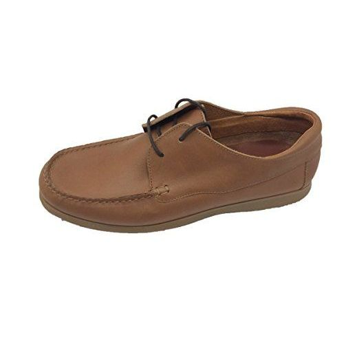 Sapato/náutico/masculino/menino/himalaia/pele
