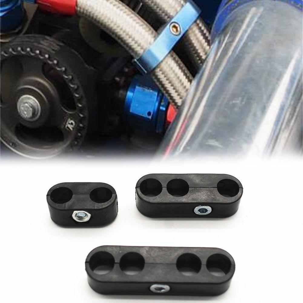 Hot Sale 6-piece Set Of 7mm-8mm Universal Spark Plug Plug Chrome-plated Clamp Splitter Wire Spark Splitter Separator Loom M9Z1