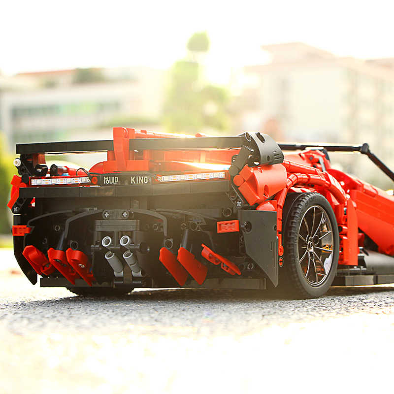 金型王テクニック 13079 アプリ rc カー新しい MOC-10559 veneno ロードスターと運動機能ビルディングブロックレンガの子供 rc おもちゃ