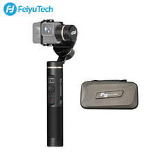 FeiyuTech G6 защита от брызг ручной карданный штатив экшн-камера стабилизатор Bluetooth и Wi-Fi для Gopro Hero 7 6 5 sony RX0 Feiyu