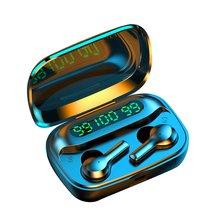3500mAh LED Bluetooth Wireless Earphones Headphones Earbuds TWS Touch Control Sp