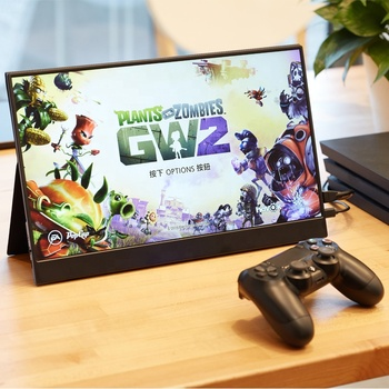 15.6 inch FHD 1080P quite Thin slim Portable Display switch and other gaming console ps4 TVbox gaming monitor 2