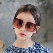 1201 Европейская и американская мода большие рамки мужские и женские солнцезащитные очки высококачественные детские солнцезащитные очки