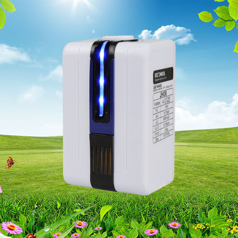 Franchise 110-240V Negative Ion Home Mini Air Purifier Ozonator Purify Cleaner Freshener Charcoal Formaldehyde