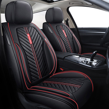 high quality leather car seat cover For peugeot 301 307 sw 508 sw 308 206 4007 2008 5008 2010 3008 2012 107 206 accessories image