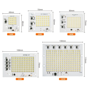 Image 5 - LATTUSO Led Lamp 10W 20W 30W 50W 100W Smart IC Floodlight COB Chip SMD 2835 5730 Outdoor Long Service Time DIY Lighting In 220V