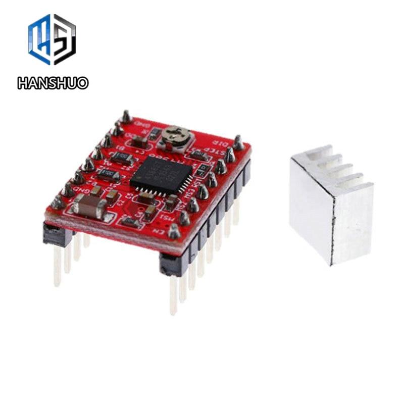 1pcs Reprap Stepper Driver A4988 Stepper Motor Driver Module With Heatsink For Arduino