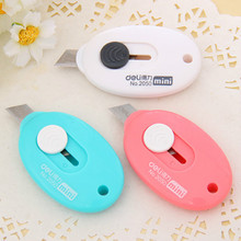 Deli Mini Letter Opener Office Utility Knife Box Cutter Safety Crafting Tools And Supplies