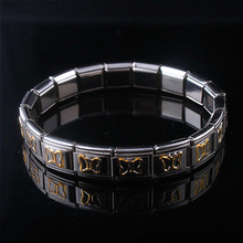 Germanium Bracelet Elastic Magnetic Stainless-Steel ST34 Women's Jewelry Charm Stretch-Energy