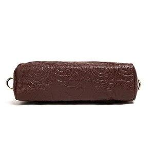 Image 2 - Bolsa de couro genuíno feminina mensageiro sacos bolsas de luxo bolsas femininas designer bolsa de ombro para as borlas crossbody saco
