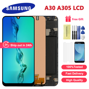 6.4'' Display For Samsung galaxy A30 A305/DS A305F A305FD A305A LCD Touch Screen Digitizer Assembly For Samsung A30 lcd