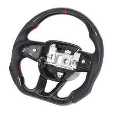 Steering-Wheel Carbon-Fiber Srt Hellcat Challenger/charger Stitching for Nappa Preforated