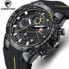 Men Watch CHEETAH Top Luxury Brand Chronograph Sports