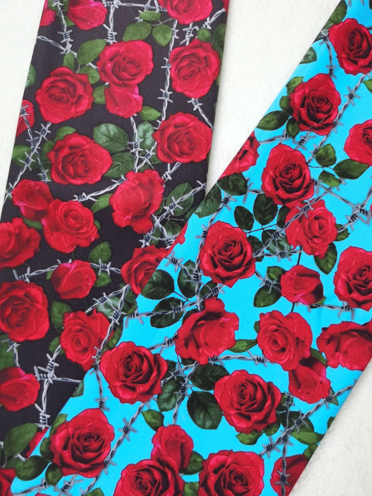 ⌠Free ShipFlower Cotton-Fabric Sewing-Material Patchwork Print Quilting Textile-Tissue Chain Bundle