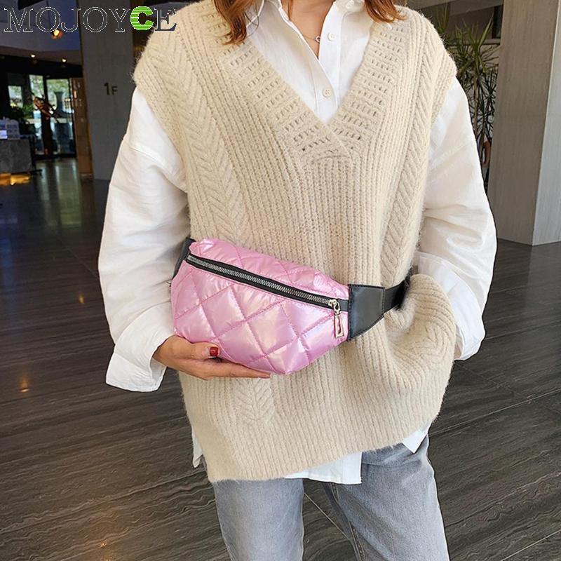 Women Waist Bag Autumn Winter Fashion Fanny Pack Casual Shoulder Crossbody Bag Money Chest Pouch For Ladies