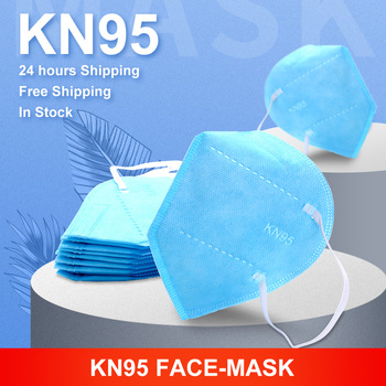 KN95 Mask for Face Fashion 5 Layers Mascarillas Dust Respirator Mouth Masks Anti Pollution 95% filter Breathable Protection Mask