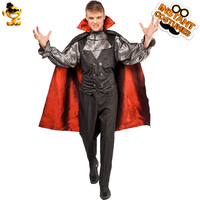 Men's Vampire Halloween Party Costume Cosplay Adult Personality High Quality Horror Masquerade Cloak Set