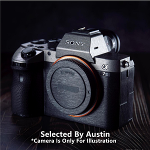 Image 1 - Camera Skin Decal Sticker Anti scratch Protector For Sony A6600 A7R4 A9 A7III A7R3 A7R2 A7M3 A7M2 A7 Wrap Cover Case