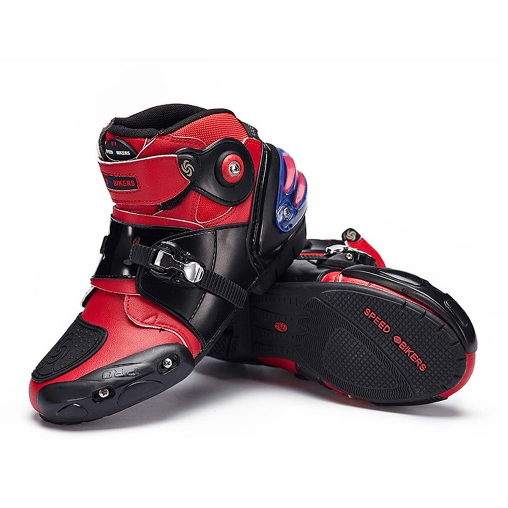 Мужские и женские мотоциклетные ботинки; Профессиональная обувь для мотокросса; Байкерские ботинки для мотокросса; Защитные ботинки для ве...