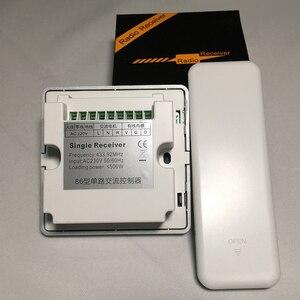 Image 5 - DC24V 220V Tuya переключатель оконной занавески Wifi 433Mhz RF пульт дистанционного управления Переключатель привода окна