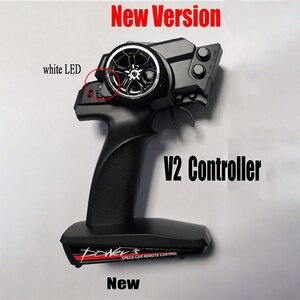 Image 2 - חדש גרסת WLtoys 12428 12429 RC רכב חלקי חילוף קבלת לוח 12428 0056 Telecontroller V2 2.4G מרחוק בקר 12428 0343