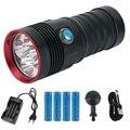 СВЕТОДИОДНЫЙ Электрический фонарик для дайвинга подводный 80 м водонепроницаемый яркий светильник для наружного _ WK