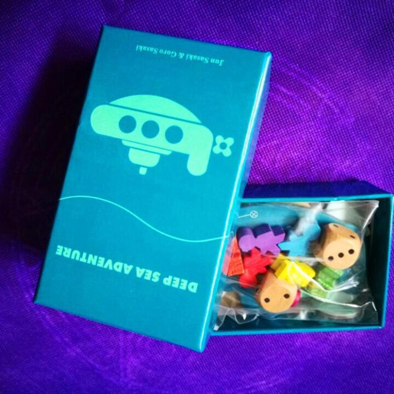 Английская версия подводное приключение настольная игра дети Интерактивная забавная игрушка