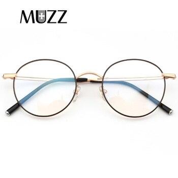Pure B Titanium Glasses Frame Eyewear Myopia Optical Spectacles Eyeglasses Women Round Prescription Frame Korea Male Eyeglasses фото