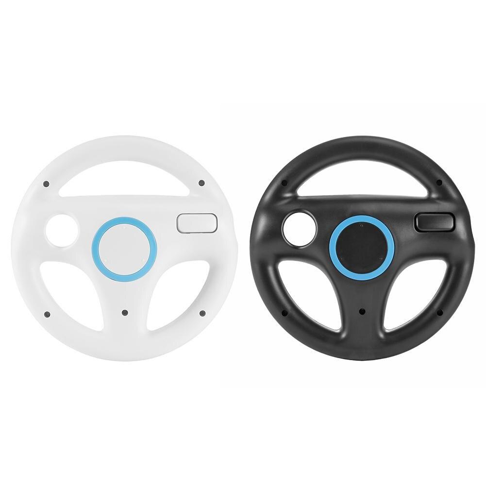 Новинка прочное пластиковое Рулевое колесо для Nintendo для Wii для гоночных игр для Марио карт пульт дистанционного управления Консоль Прямая п...