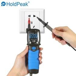 HP-38C HoldPeak Измеритель Напряжения Ручка Тип AC/DC Цифровой мультиметр Электрический измеритель напряжения портативные измерительные инструмен...