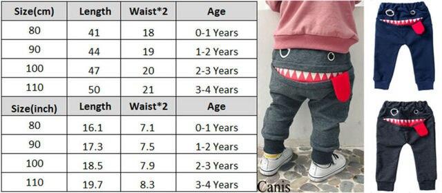 Фото милые штаны монстр с большим ртом для маленьких мальчиков и цена