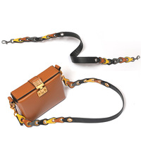 Brand Ring Buckle Bag Accessories Women Color Shoulder Strap Genuine Leather Bag With Lady Shoulder Straps For Bags Chain