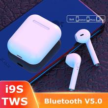 I9s Tws Headphone Wireless Bluetooth 5.0 Earphone Mini Earbuds With Mic Charging