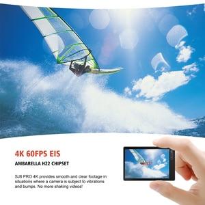 Image 3 - SJCAM SJ8 Pro Action Camera 4K 60FPS WiFi Remote Helmet Camera Ambarella Chipset 4K@60FPS Ultra HD Extreme Sports DV Camera