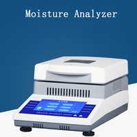 Analyseur d'humidité rapide automatique alimentant le détecteur d'humidité de Grain testeur d'humidité d'halogène 220V