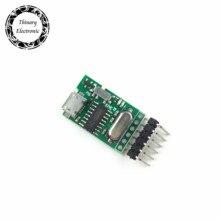 Thinary Elektronik 100 Adet USB TTL dönüştürücü Mikro UART modülü CH340G CH340 için 3.3V 5V anahtarı downloader pro mini arduino için