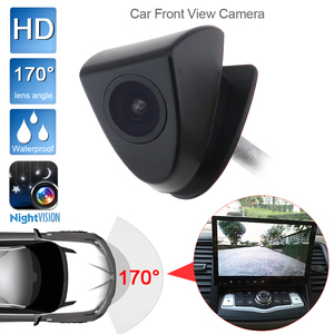 9V-15V 420 TVL Car Front View Camera Night Vision 170 Degree Len Angel Wide Waterproof W/ AV 6m Cable fit for Toyota Cars