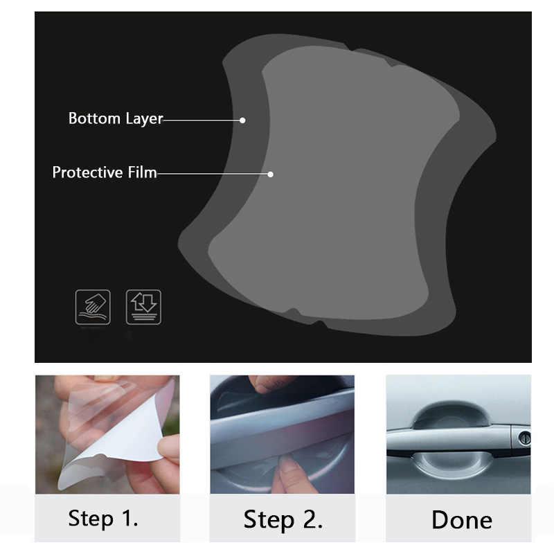5 قطعة/المجموعة شفافة سيارة مقبض طبقة رقيقة واقية لنيسان X-درب جوك قاشقاي ميكرا بولسار قاشقاي ميكرا جوك ملاحظة تيدا ورقة