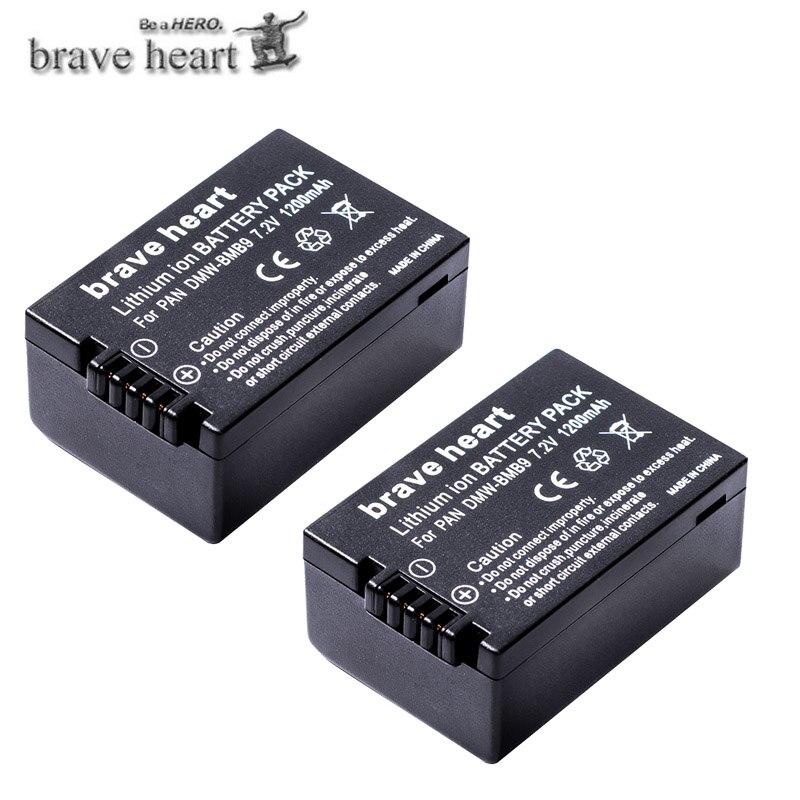 Panasonic bmb9e batería Lumix dmc-fz62 fz100 fz150 fz45 fz48