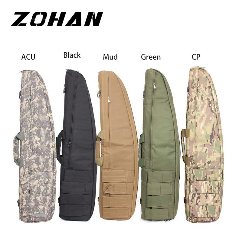 100CM War Game Military Tactical Gun Bag Slip Durable Water-Resistant Hunting Equipment Gun Bags Air Rifle Case Protection Bag